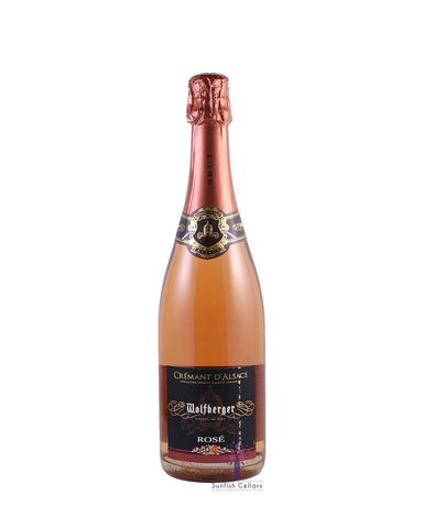Wolfberger Cremant D'Alsace Brut Rose