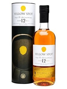 Yellow Spot 12 Year Old Whiskey 750ml
