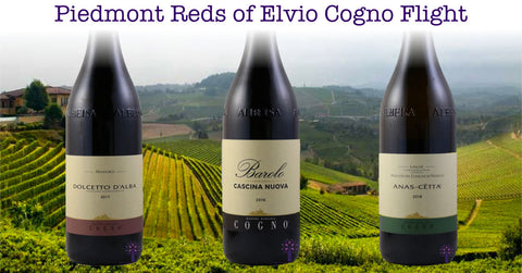 Piedmont Reds of Elvio Cogno Flight