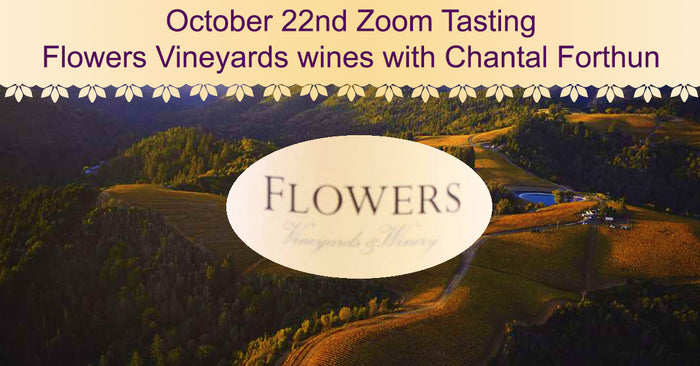 Wines for the October 22nd Zoom Tasting