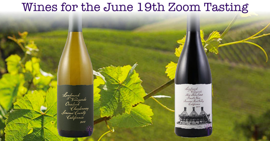 Wines for the June 19th Tasting