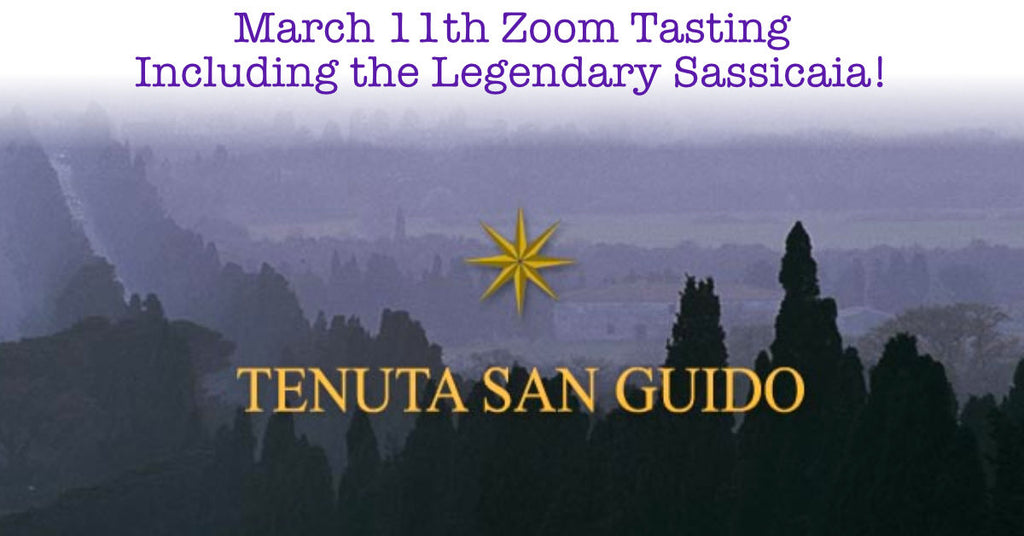 Wines for the March 11th Tasting