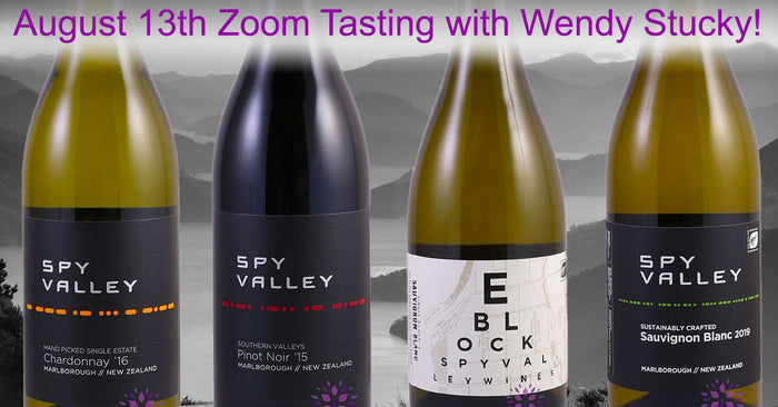 Wines for the August 13th Zoom Tasting