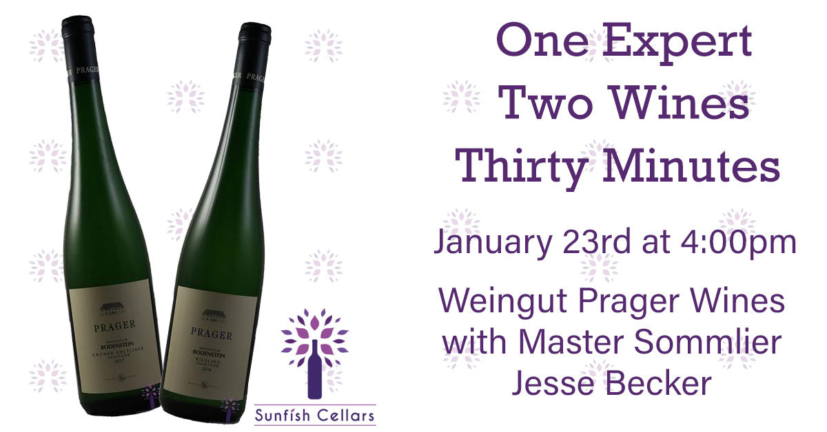 Wines for the January 23rd Tasting