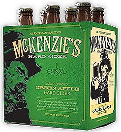 McKenzie's Green Apple 6pk Bottles