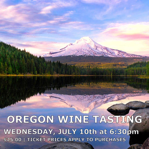 Oregon Wine Tasting