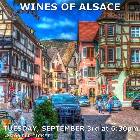 Wines of Alsace Tasting