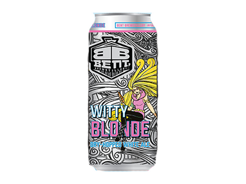 Bent Witty Blonde 4pk Cans