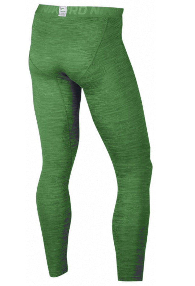 Men's Nike Pro Cool Tight Green 811431 340 ...