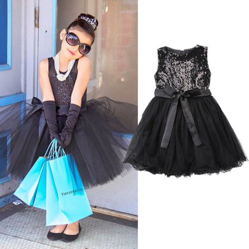 d3e59718d1f2 Girls Black Sequin Tutu Dress – Sugarbunnies Handmade