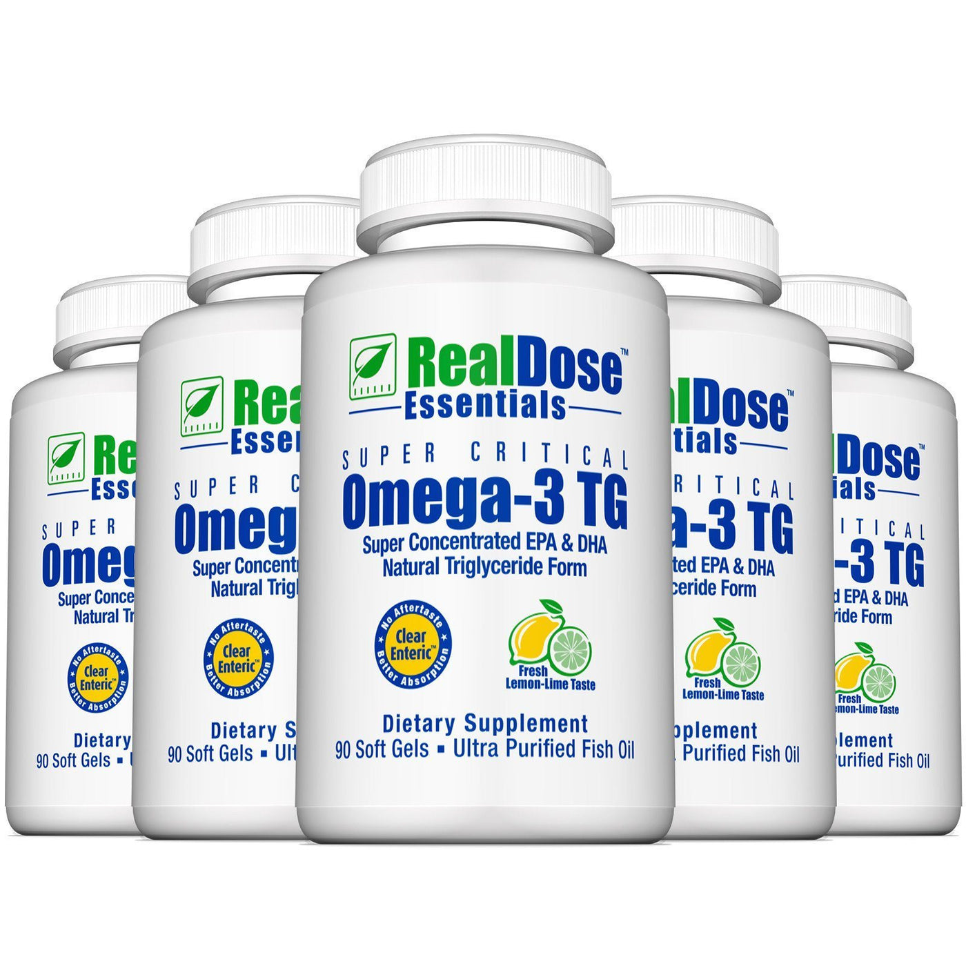 Super Critical Omega-3 TG 6 bottles Stock Up & Save