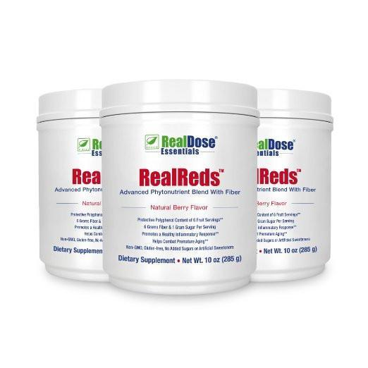 RealReds - 3 containers