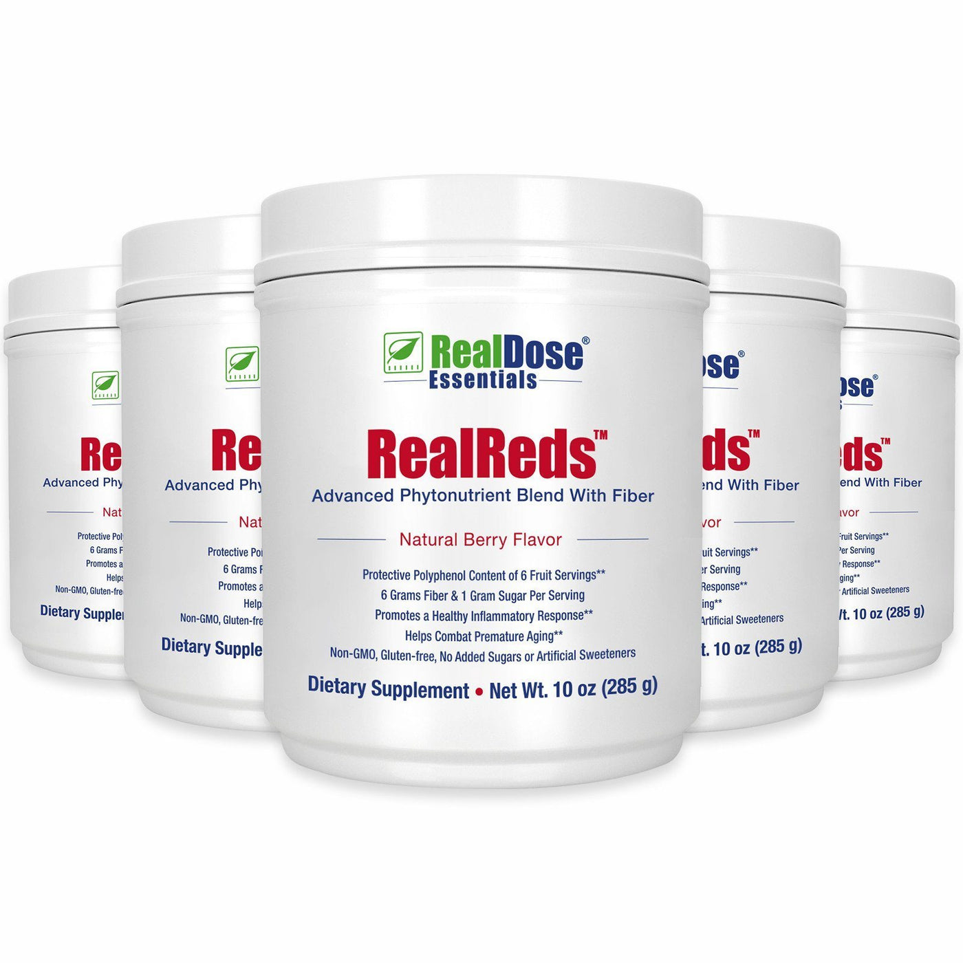 RealReds - 5 containers