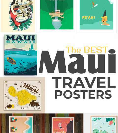 The Best Maui Travel Posters