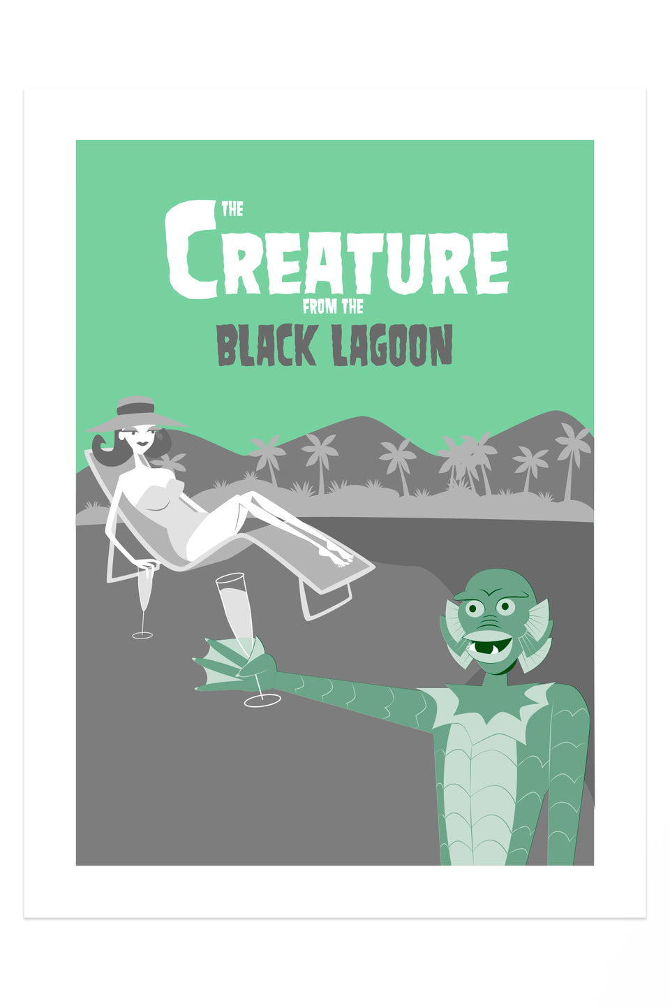 Creature from the Black Lagoon (Giclée Fine Art Print)