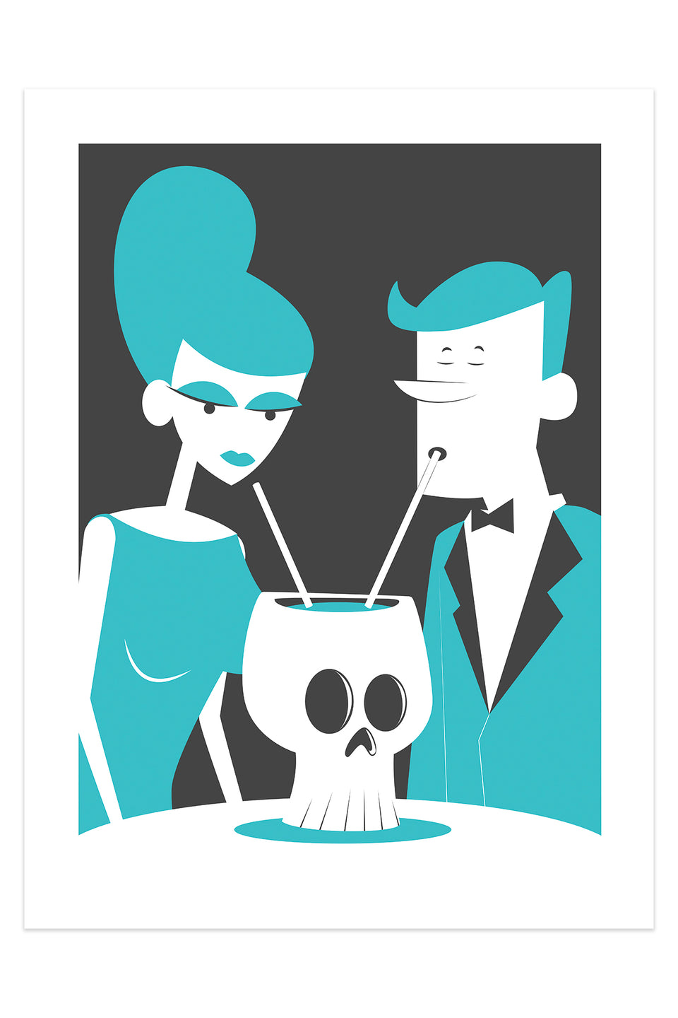 Drinking from Skull (Giclée Fine Art Print)