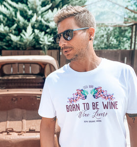 CAMISETA WINE LOVERS - CHICO - Perdiendo el Norte