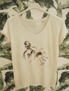 CAMISETA MUSIC-FRIENDLY CHICA - Perdiendo el Norte