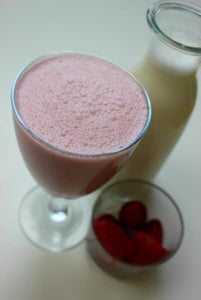 STRAWBERRY HEMP SEED MILK