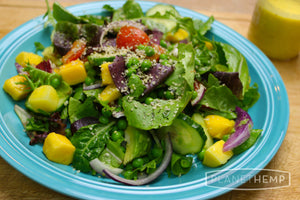 HEMP AND MANGO SALAD