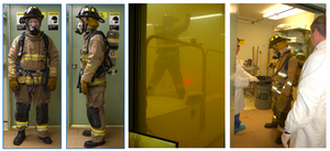Smoke Particle Infiltration into Firefighter Clothing