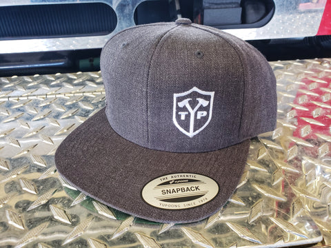 TYP Snapback Grey/White