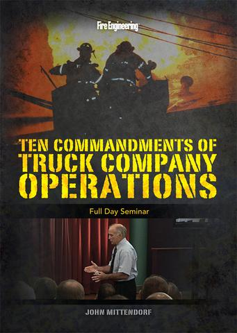 Ten Commandments of Truck Company Operations: Full Day Seminar DVD