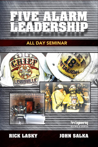 Five Alarm Leadership: All Day Seminar DVD