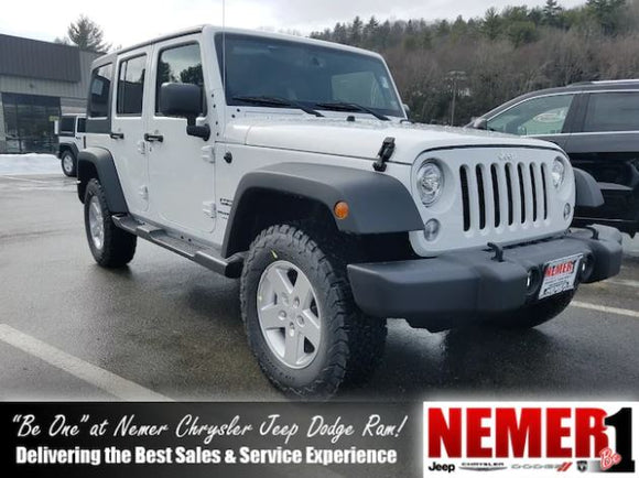 Jeep Wrangler Lease >> Lease New 2018 Jeep Wrangler Unlimited Sport Jk