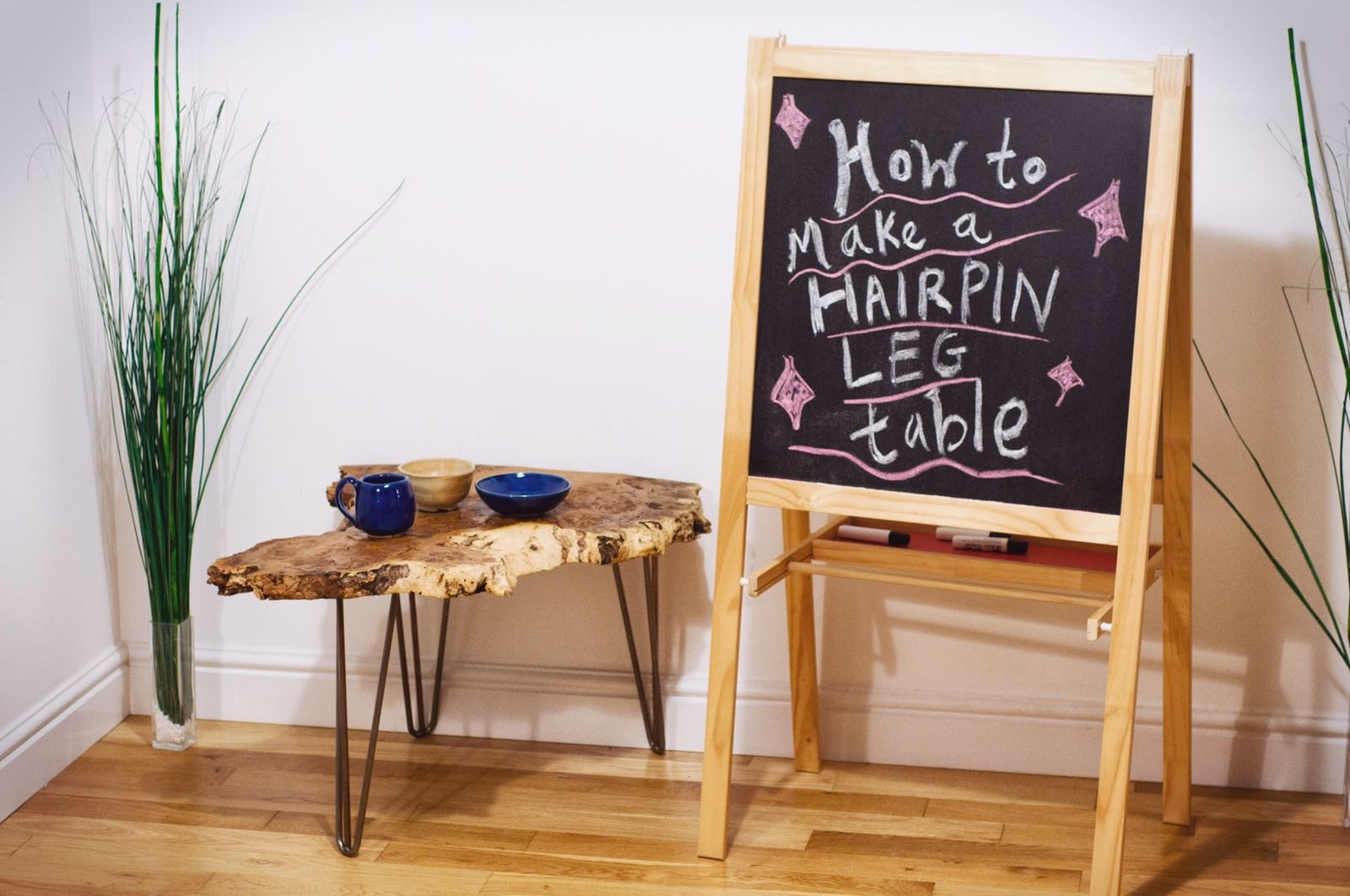 How to make your own hairpin leg table