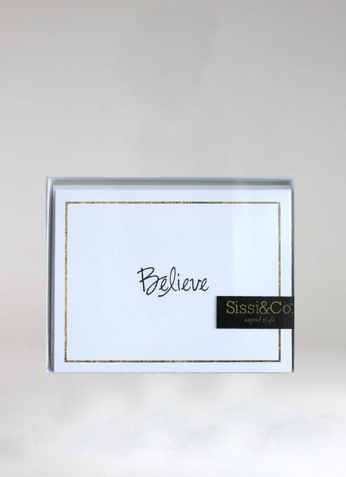 BELIEVE – CARD & ENVELOPE SET