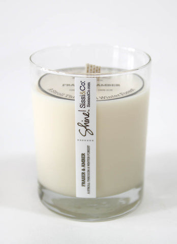 Warm Vanilla Delight - 4oz Candle