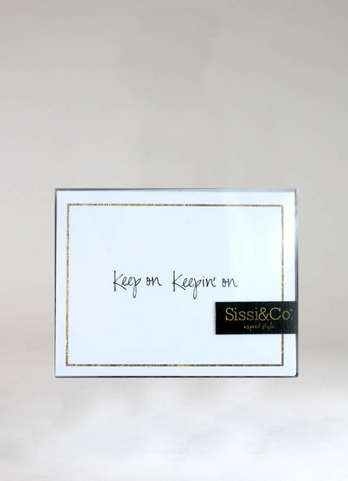 KEEP ON KEEPIN ON – CARD & ENVELOPE SET