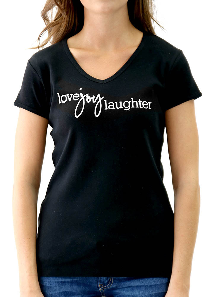 LOVE JOY LAUGHTER – BABY RIB TEE