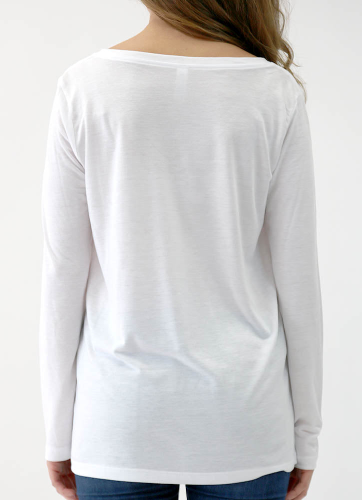 INSPIRE – LONG SLEEVE FLOWY