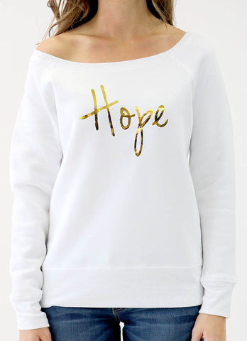 HOPE – LONG SLEEVE FLOWY