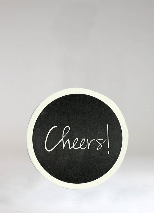 CHEERS! PULP BOARD COASTER SET