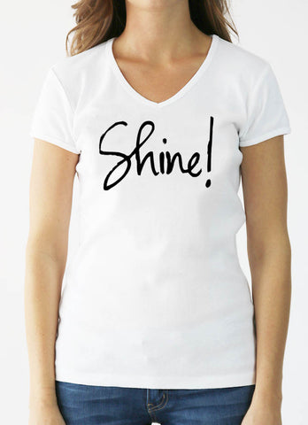 SHINE! - Canvas Drawstring Backpack