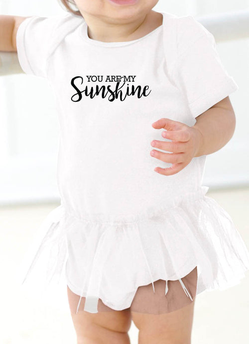YOU ARE MY SUNSHINE - ONESIE WITH TUTU