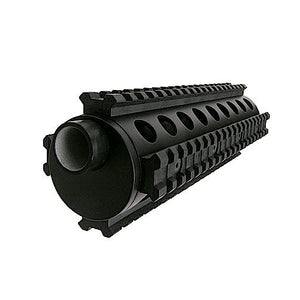 A5 Flatline 4 Rail Shroud/Hand-guard, 8 Inch - Lapco Paintball