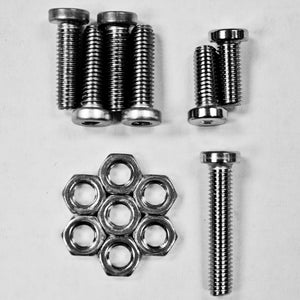 TiPX Stainless Steel Hardware Kit - Lapco Paintball