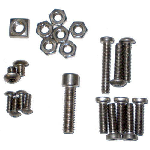 Model 98 Stainless Steel Hardware Kit - Lapco Paintball