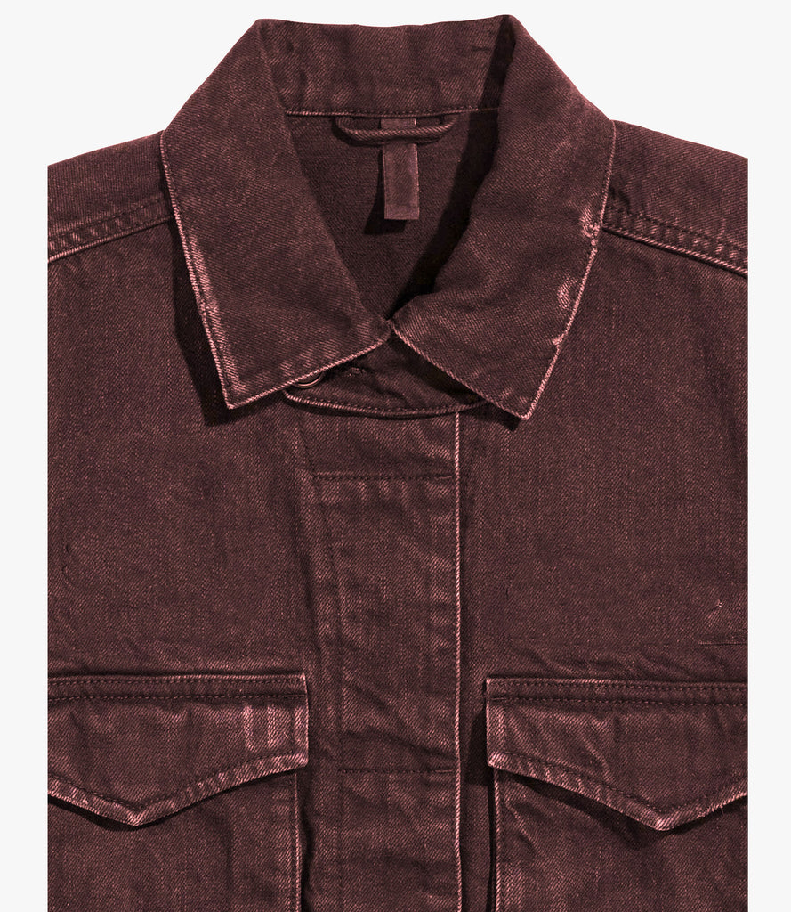 Ruby Denim Cut-off Jacket