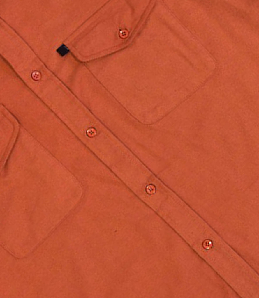 Rust Cotton Shirt