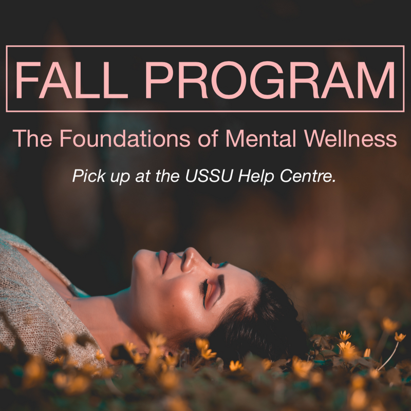 Fall Program (Saskatoon Residents) [September to December 2018]