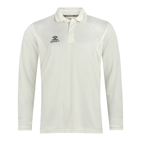 Shrey Cricket Shirt Long Sleeve