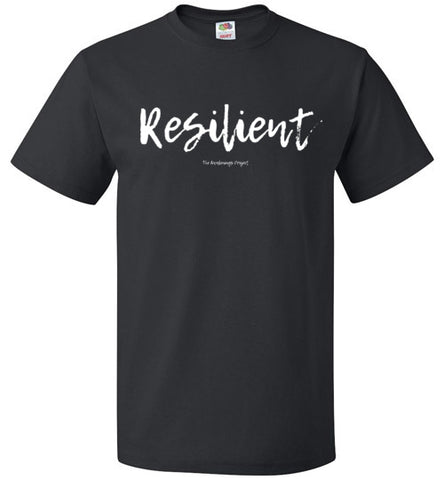 Resilient Unisex Crew Neck Tee - The Awakenings Project