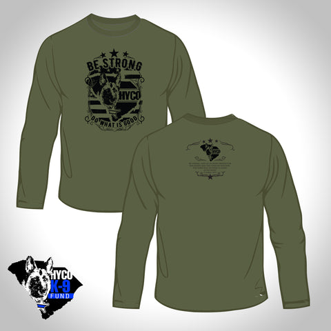 Be Strong - Olive Long Sleeve
