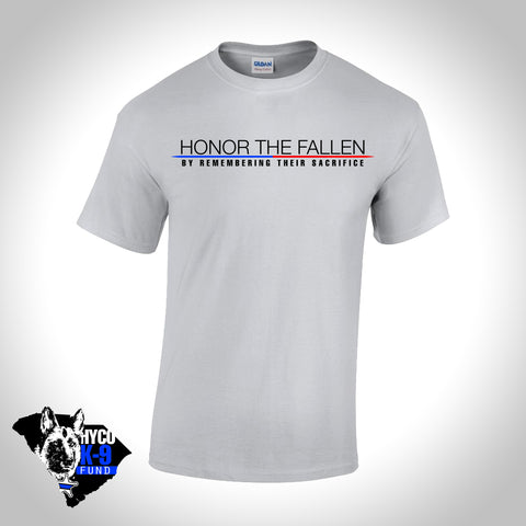Honor the Fallen- Short Sleeve