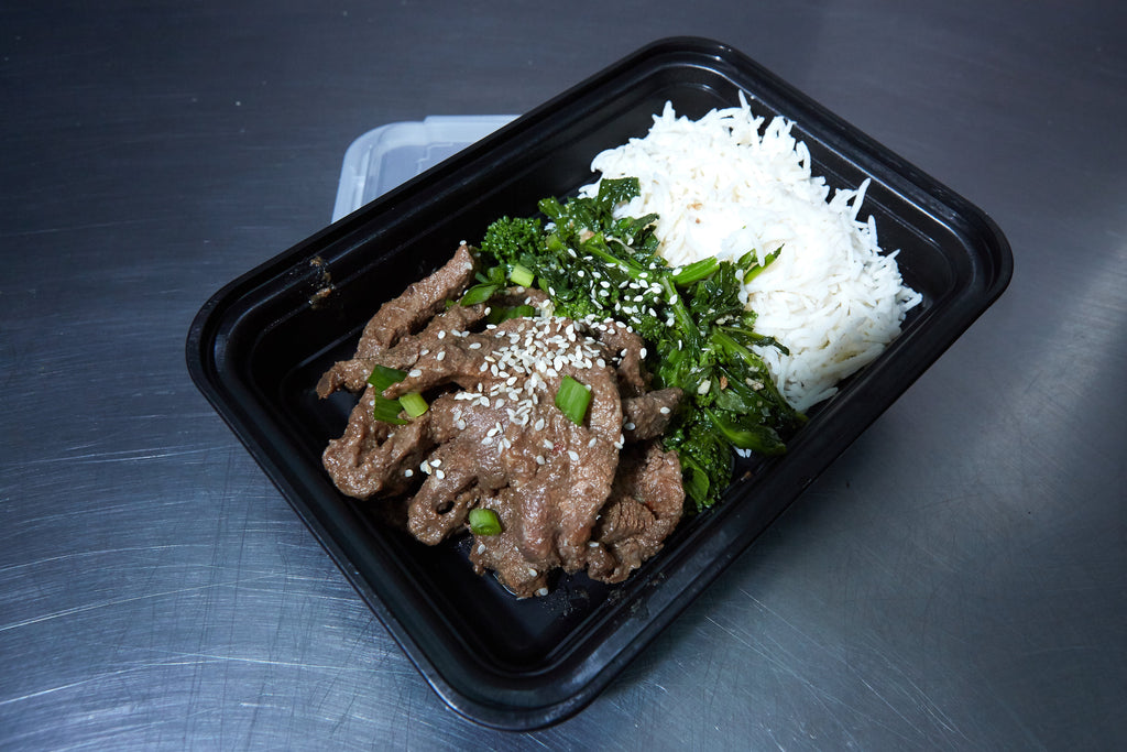 Teriyaki Beef and Broccoli Rabe - Meal Dealers